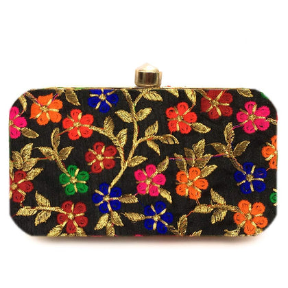 Women's Box Clutch For Bridal, Party, Wedding - iZiffy.com