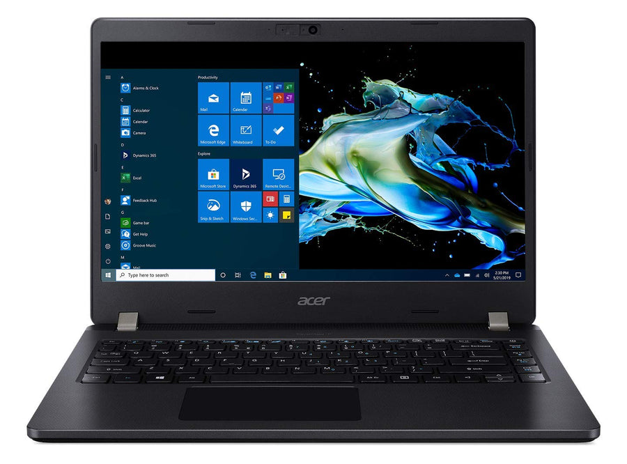 Acer Travelmate Intel i5-10th Gen 14-inch Display 1366x768 Thin and Light Laptop (8GB Ram/512 GB SSD/Window 10 Pro/Integrated Graphics/Black/1.68 Kgs), TMP214-52
