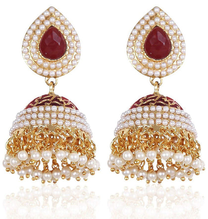 Flaray Traditional Jhumki Earrings For Women & Girls - iZiffy.com