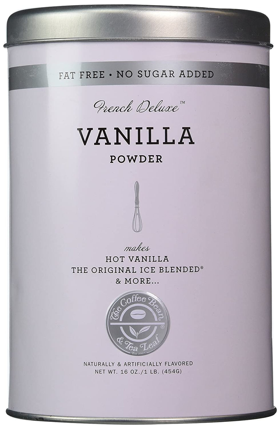 The Coffee Bean & Tea Leaf French Deluxe Vanilla Powder 16 Oz - iZiffy.com