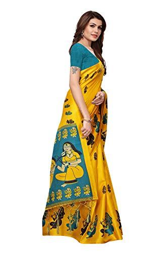 Art Silk with Blouse Piece Saree - iZiffy.com
