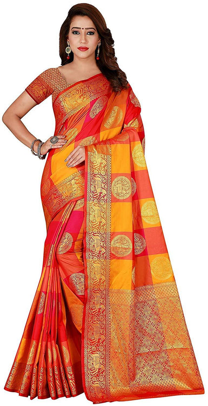 Flaray Banarasi Patola silk sarees for women