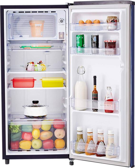 Whirlpool 190 L Direct Cool Single Door 4 Star (2020) Refrigerator  (Sapphire Radiance, WDE 205 PRM 4S INV SAPPHIRE RADIANCE) - iZiffy.com