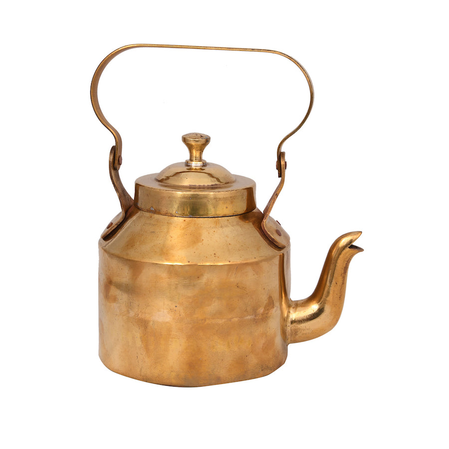 Gold Color Brass Kettle - iZiffy.com