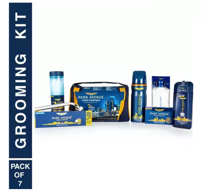 Park Avenue Good Morning Grooming Kit  (8 Items in the set)