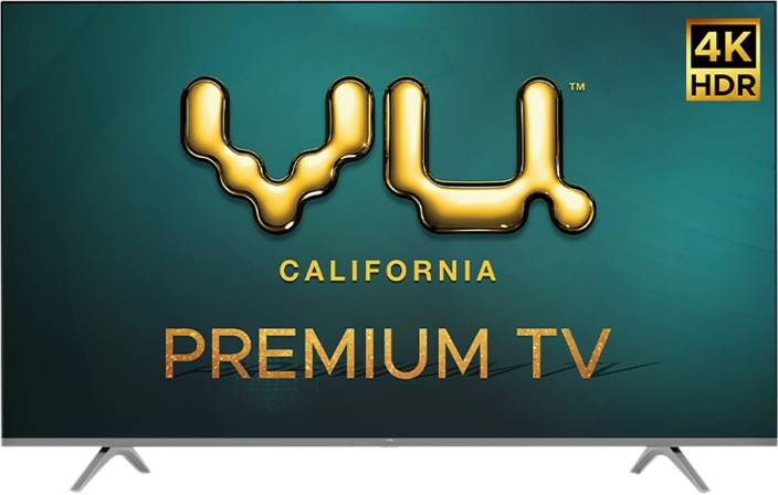 Vu Premium 139cm (55 inch) Ultra HD (4K) LED Smart Android TV  (55PM) - iZiffy.com