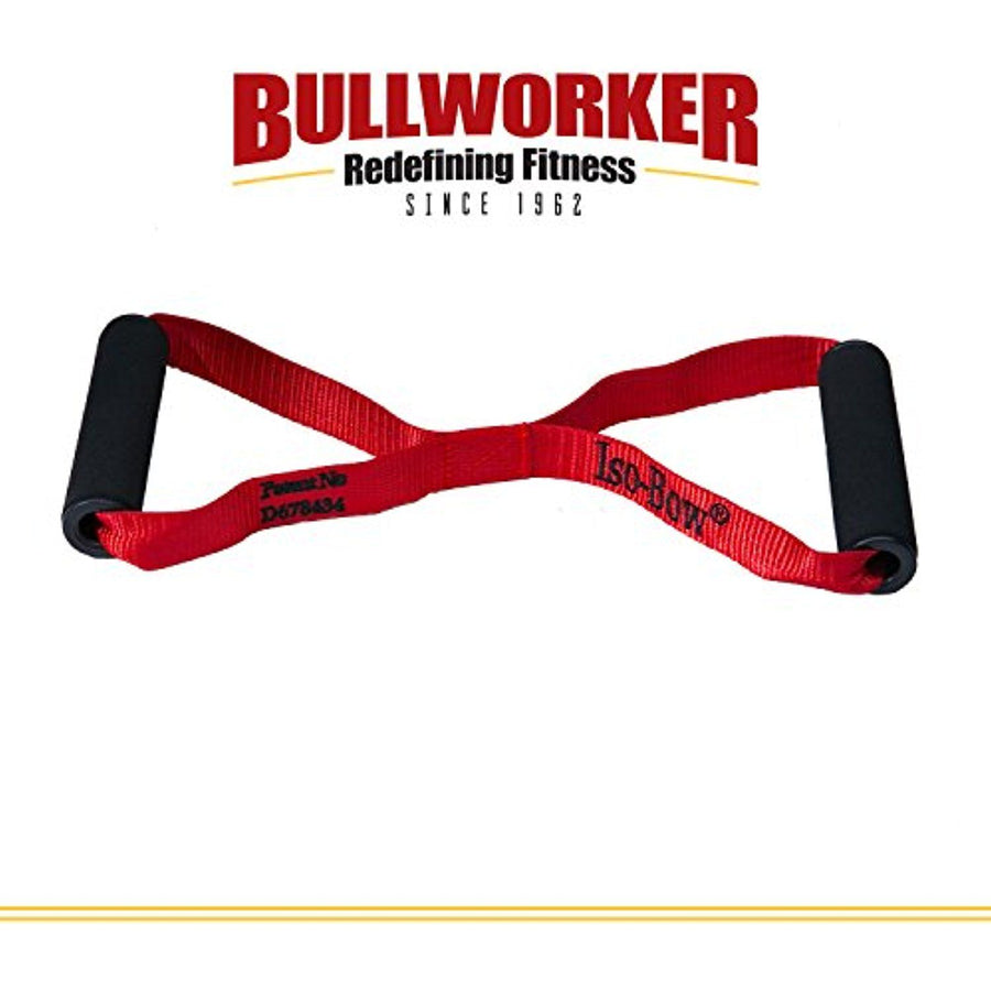 Bullworker Iso-Bow: Isometric Exercise Equipment; Portable Home Fitness Training Strap for Fast Strength and Flexibility Gains, Traveling Stretching Tool for Yoga and Pilates (Does not Stretch) - iZiffy.com