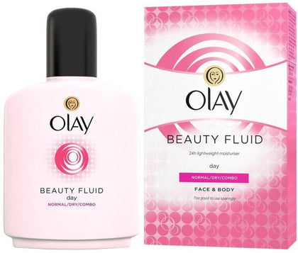 Olay Beauty Fluid for Normal/Dry/Combinational Skin Face & Body 200 Ml Free Gift Form Cloudtail India  (200 ml) - iZiffy.com