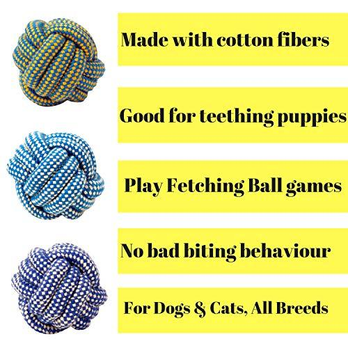 Dog Rope Toys for Chewing and Teething Dogs & Puppies (3 Knot Rope Toy) - iZiffy.com