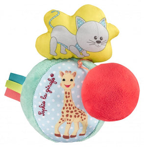 sophie la girafe vibrating and sound ball
