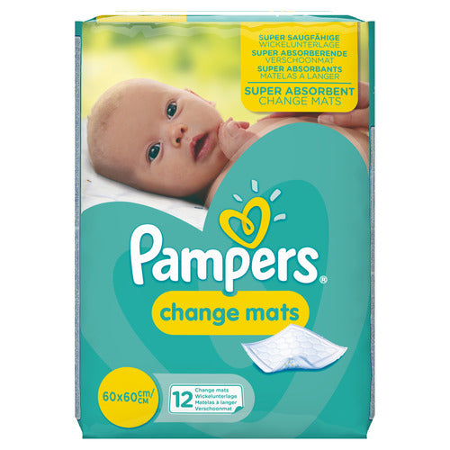 pampers changing mats
