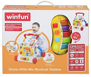 winfun - grow with me musical walker