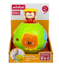 Load image into Gallery viewer, winfun - roll n pop jungle activity