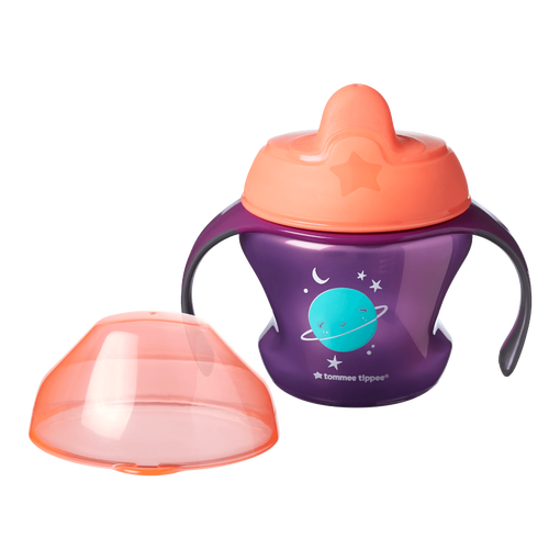 tommee tippie first cup 4m+ - purple space