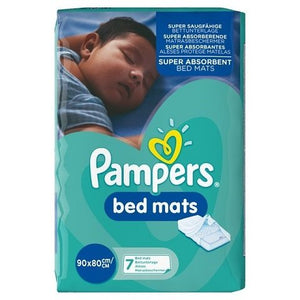 pampers bed mats 90x80cm