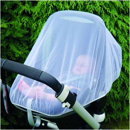clippasafe - insect net for infant car seat