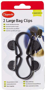 clippasafe - 2 large bag clips