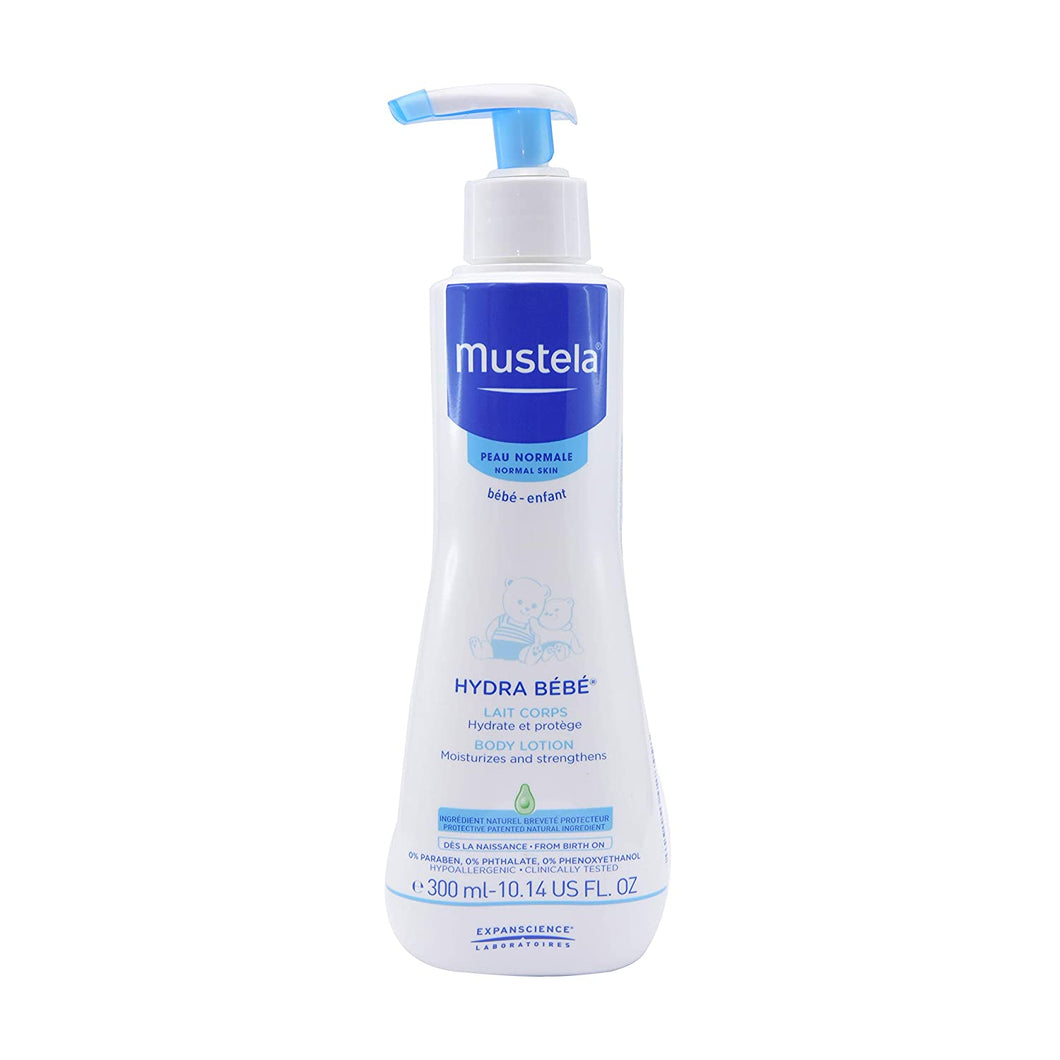 mustela - baby hydra bebe body lotion 300ml