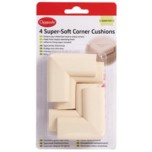 Load image into Gallery viewer, clippasafe - 4 super soft corner cushions