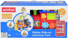 Load image into Gallery viewer, winfun - walker ride - on learning train