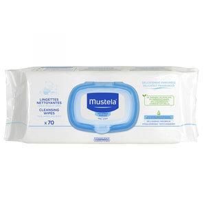 mustela - cleansing wipes x70