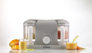beaba - babycook® duo is a 4 in 1 food maker