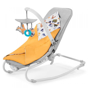 kinderkraft - reclining chair felio forest yellow