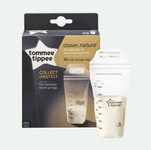 Load image into Gallery viewer, tommee tippee milk storage bags.