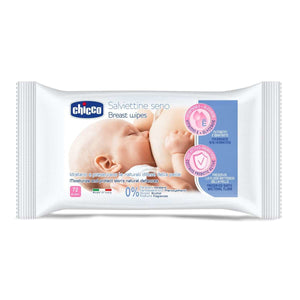 chicco breast wipes (72 pcs)