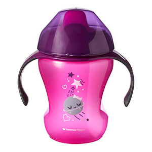 tommee tippee easy drink cup 6m+ - pink space