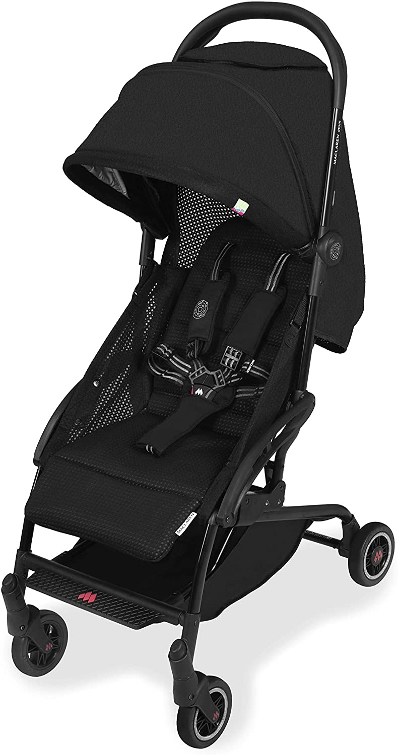 maclaren atom superlight ultra compact stroller - black