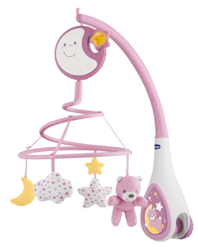 chicco mobile - pink
