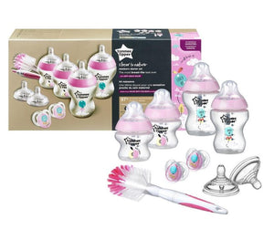 tommee tippee closer to nature newborn starter kit – Pink