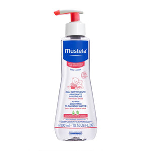 mustela - sensitive skin no rinse 300ml