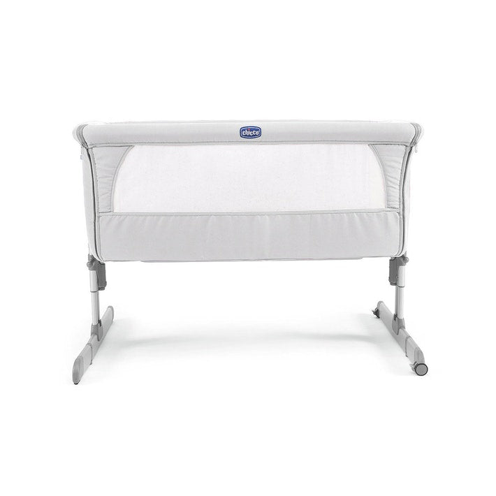 chicco next2me crib - silver