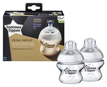 Load image into Gallery viewer, tommee tippee - closer to nature bottle 150ml (2pk)