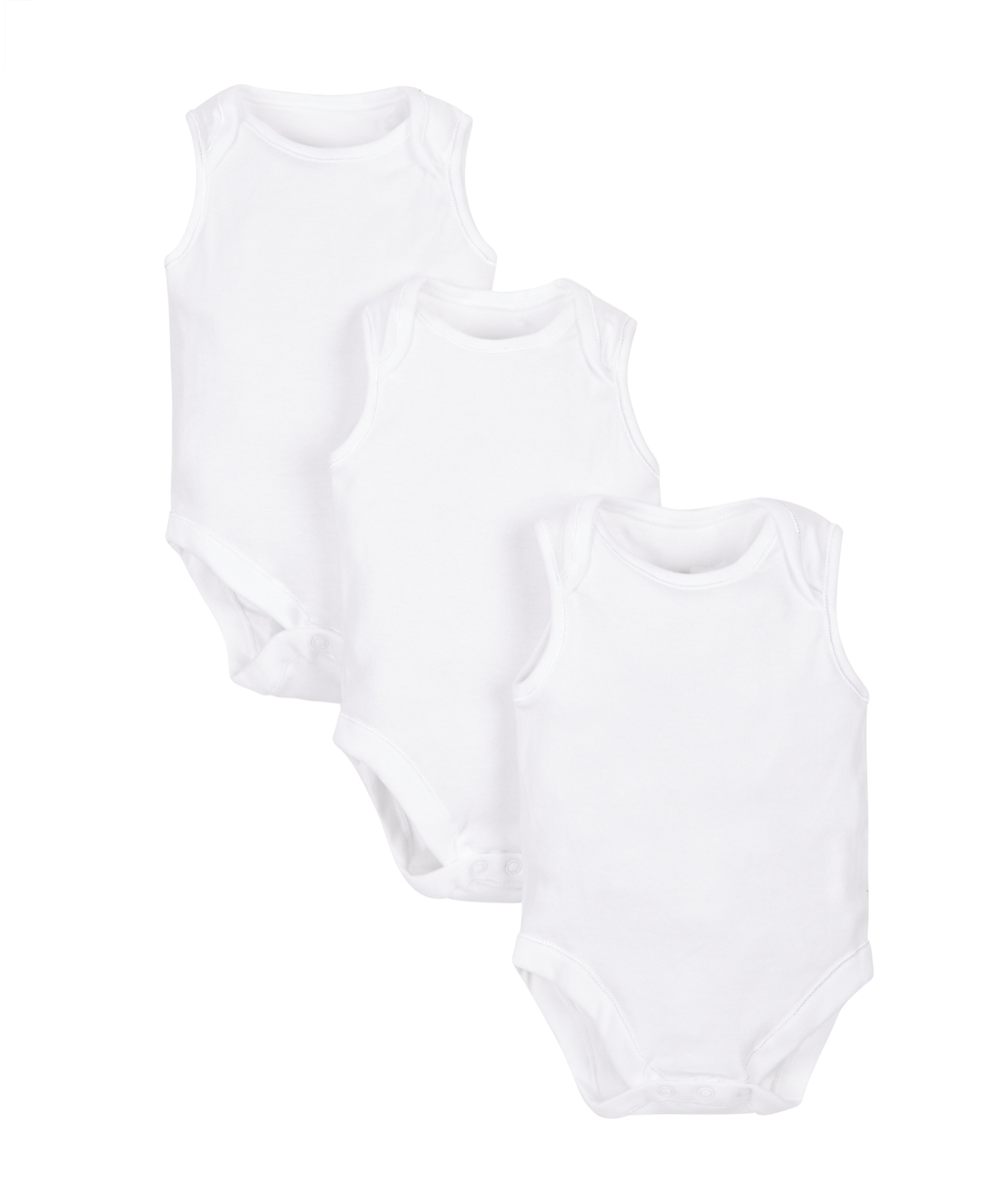 my first sleeveless bodysuits - 3 pack