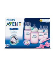 Load image into Gallery viewer, philips avent classic+ newborn starter set – pink