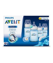 Load image into Gallery viewer, philips avent classic+ newborn starter set – blue