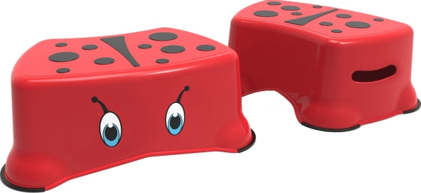 my little step stool - ladybird