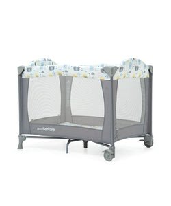 mothercare classic travel cot - elephants