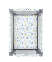Load image into Gallery viewer, mothercare classic travel cot - elephants