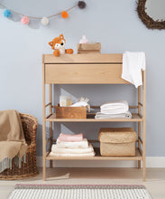 Load image into Gallery viewer, mothercare balham open changing unit - beech