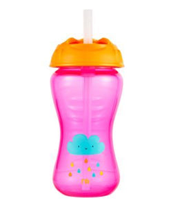 mothercare flexi straw toddler cup - pink