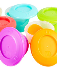 Load image into Gallery viewer, mothercare small easy pop freezer pots - 6 pack