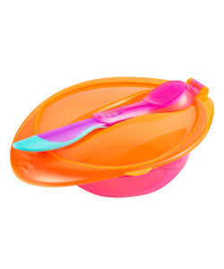 mothercare first tastes weaning bowl set - pink
