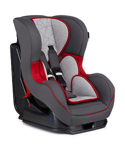 madrid car seat grey and red