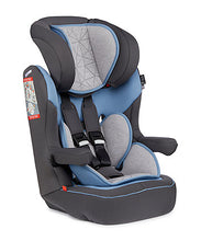 Load image into Gallery viewer, mothercare advance xp highback booster car seat grey and blue