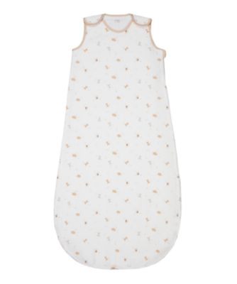 mothercare little and loved 0.5 tog muslin sleep bag (6-18 months)