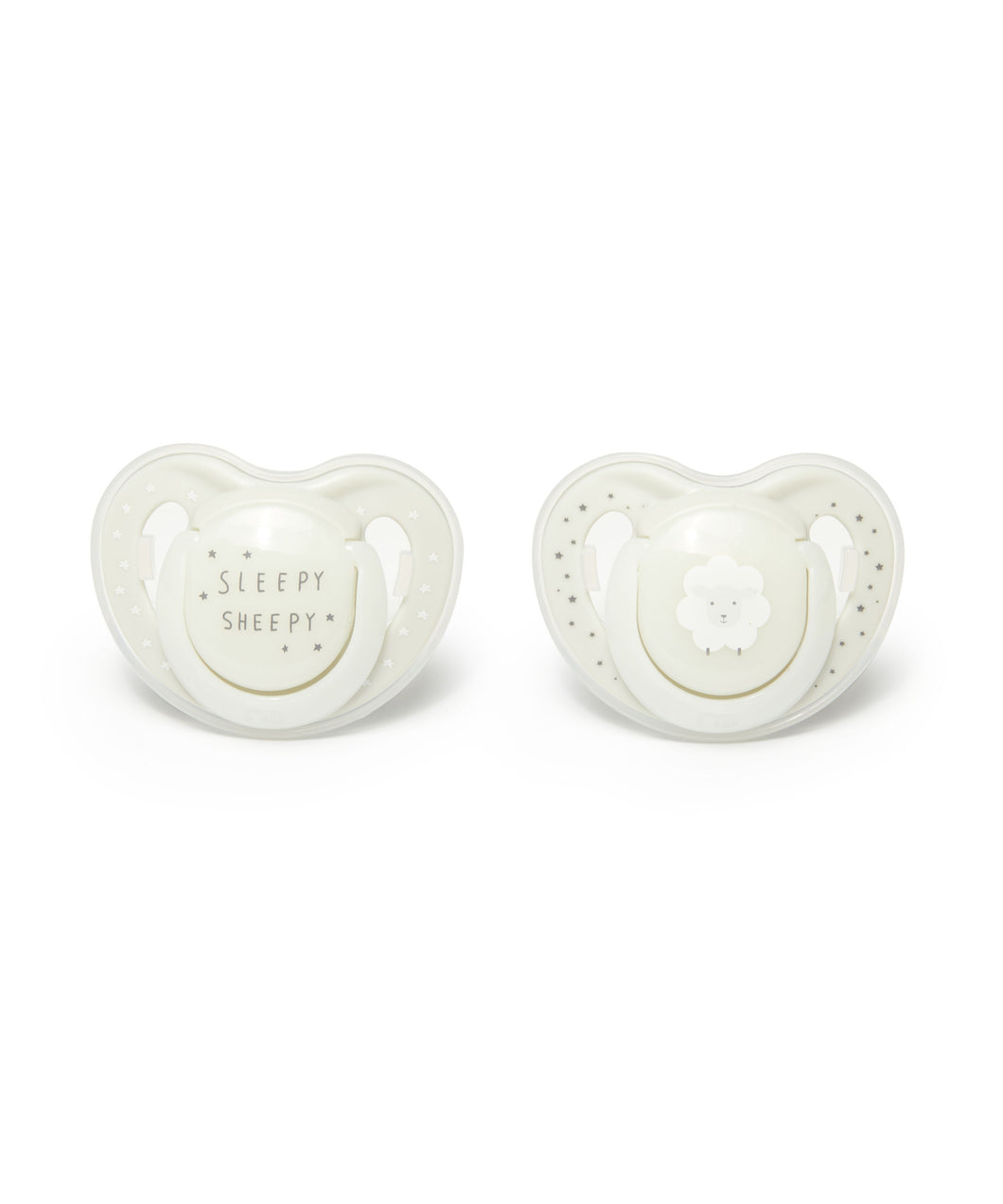 mothercare 0-6m orthodontic soothers 2 pack - sheep
